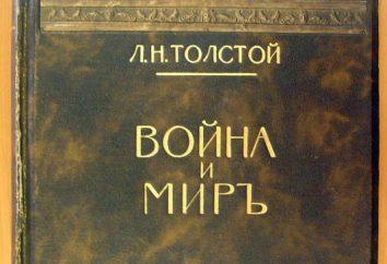 """Schon Grabern Schlacht in dem Roman """"Krieg und Frieden"""" Tolstogo L. N."""