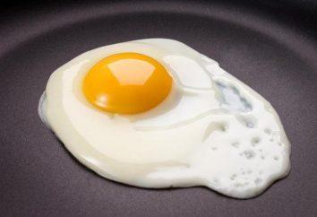 Smażone jajka: krok po kroku przepis ze zdjęciem