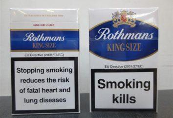 Rothmans- papierosy posiadają doskonałą jakość Anglika