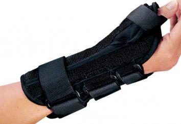 Tipps und Bewertungen der Ärzte: Wie eine Klammer am Handgelenk wählen