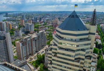 áreas Dnepropetrovsk: uma lista de novos nomes