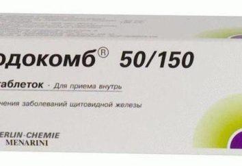 """Lek """"Yodokomb 50/150"""": analogi, skład, wskazania do stosowania"""