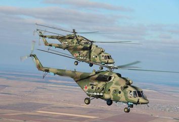 Transport i śmigłowiec szturmowy Mi-8AMTSh: opis, broń