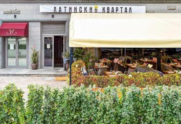 « Quartier Latin » – un restaurant à Moscou, photos et avis