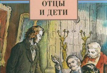 Das Problem der Väter und Kinder im Bild von Turgenjew. Kompositionsbegründung