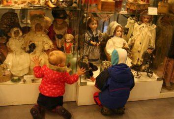 Unikalny muzeum lalek w Moskwie królestwa. Eksponaty w różnym wieku iz różnych krajów