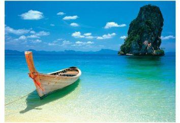 Qual è il mare in Thailandia e ciò che appartiene al mare?
