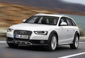 Audi Allroad a4: Spezifikation und Bewertungen