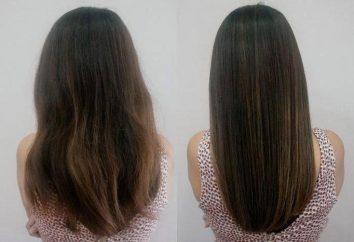 Kératine traitement des cheveux: critiques et propose des soins