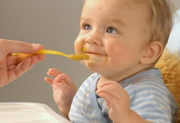 Das Baby wuchs gesund und stark: Babynahrung für die Gewichtszunahme