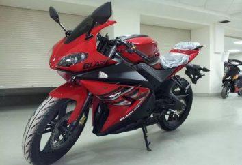 Motorcycle Patron Blaze 250: caractéristiques et avis