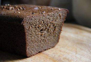 Borodino pão receita no forno (sourdough)