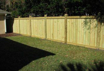 Como fazer uma cerca de madeira com suas mãos? foto