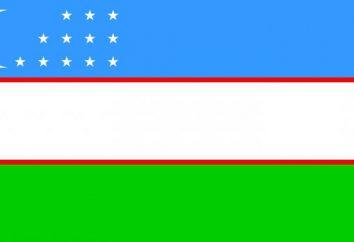 Bandiera dell'Uzbekistan. Lo stemma e bandiera dell'Uzbekistan: storia, origine e il significato
