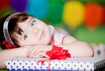 muchacha un regalo para 4 años: Criterios de selección