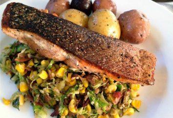 Secrets d'une bonne alimentation: saumon calories