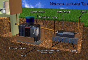 Ländliche Sanitär: Arten, Schaltungsbaugruppe. Kanalisation im Land