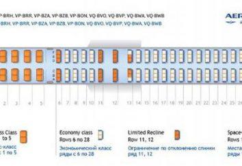 """""""Aeroflot"""", """"Boeing 777-300"""": diseño interior, descripción y características"""