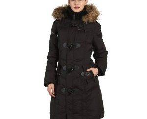 La meilleure solution pour l'hiver: veste en duvet noir Jonquille