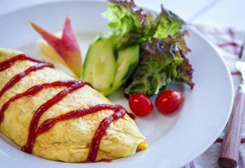 Como cozinhar um arroz omelete em japonês: a receita com uma foto