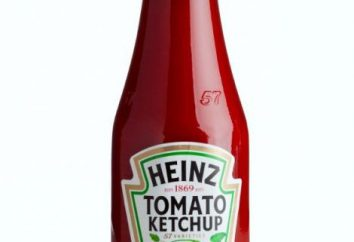 """Ketchup """"Heinz"""": konstrukcja, korzyści i szkody"""