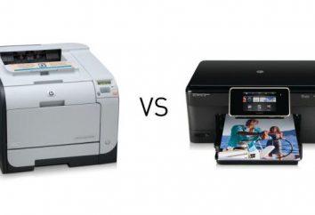 Co to jest zasada drukowania drukarek atramentowych i laserowych? Jak drukować na drukarce atramentowej