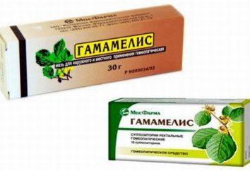 """""""Hamamelis"""" – świece i maść z hemoroidów: instrukcje użycia, analogi"""