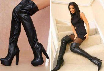 Bottes, bas – chaussures pour les « avancées » Mesdames!