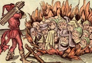 Spalanie heretyka. Kościół i Heretycy