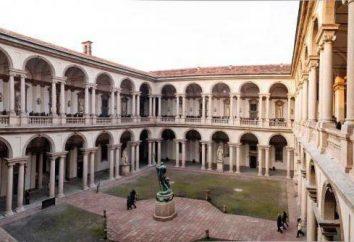 Pinacoteca di Brera a Milano: una descrizione, una collezione di dipinti