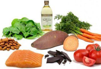 Jakie produkty zawierają wiele witamin A i B?