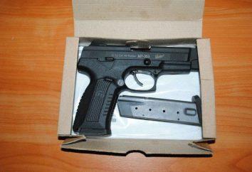 Traumatische Pistole МР-353: Überprüfung, Eigenschaften, Preis