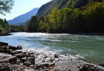 Bzyb to rzeka w Abchazji. Opis, cechy i świat przyrody