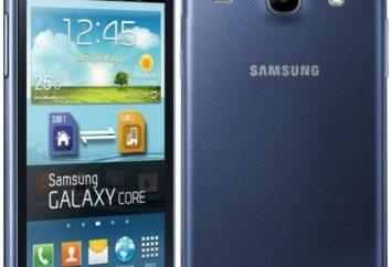 Stylowy smartfon z dobrym zestawem funkcji – Samsung i8262 Galaxy podstawowej