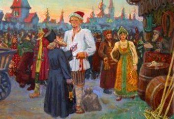 """Tale """"intelligente lavoratore."""" racconti popolari russi per i bambini"""