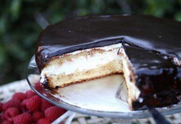 Gâteau sans cuisson « lait d'oiseau »: étape par étape des photos de recettes