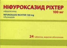 """Środki przeciwbakteryjne: analog """"Enterofuril"""""""