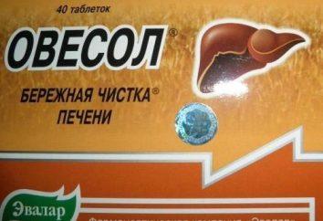"""Lek """"Ovesol"""". Instrukcje użytkowania (tabletki i nalewki)"""