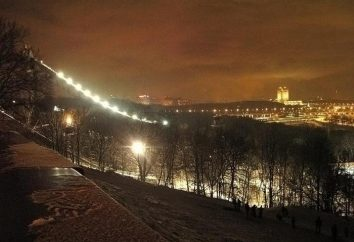 """Park """"Sparrow Hills"""" – ein Symbol für Moskau"""