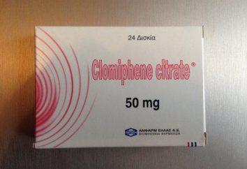 « Clomifène »: avis. « clomifène »: mode d'emploi, description, prix