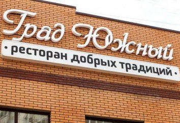 """""""City of South"""" restauracji w Krasnogorsk dla królewskiego wypoczynku"""