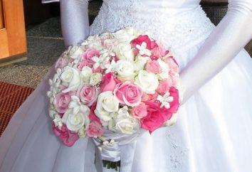 Casamento buquê de noiva de rosas para um casamento no inverno