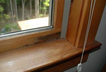 Vent valve pour fenêtres en plastique. Fenêtres en plastique avec un évent