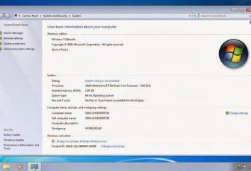 Po ponownej instalacji systemu Windows 7 komputer spowalnia: co robić?