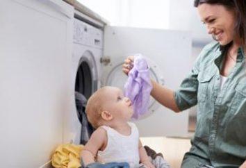 Gel pour le lavage des sous-vêtements pour enfants: marques, composition, revues, notes