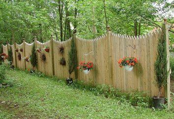 Comment faire une clôture décorative avec leurs mains?