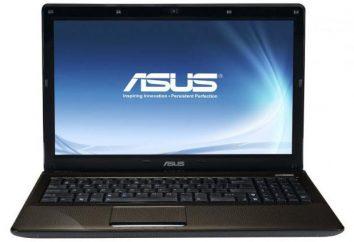 Laptop Asus K52D: specyfikacje techniczne, testy i opinie