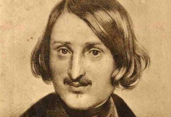 Tabella cronologica di Gogol. La vita e l'opera di scrittore russo
