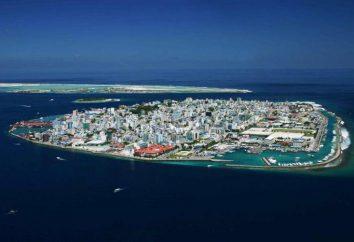 République des Maldives. Maldives sur la carte du monde. Maldives – Mer