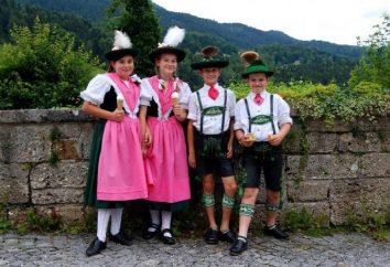 Które kraje po niemiecku niż w Niemczech?